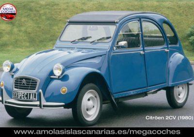 Citroen 2CV foto coche antiguo deportivo y de lujo mas caros del mundo vips Tenerife Islas Canarias