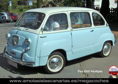 Fiat 600 Multipla foto coche antiguo deportivo y de lujo mas caros del mundo vips Tenerife Islas Canarias