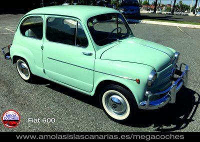 Fiat 600 antiguo foto coche antiguo deportivo y de lujo mas caros del mundo vips Tenerife Islas Canarias
