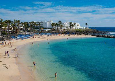 La-playa-de-Lanzarote. foto de las playas canarias