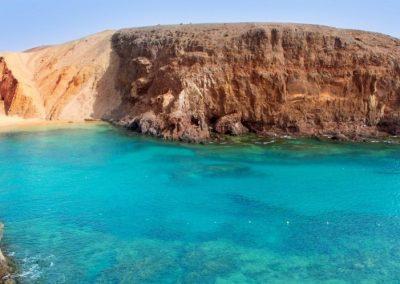 La-playa-de-Papagayo-es-una-de-las-más-espectaculares-de-Lanzarote. foto