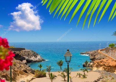Playa Paraiso en Adeje Tenerife islas canarias