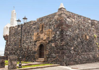 castillo fortaleza san miguel en garachico tenerife