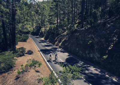 ciclismo en la esperanza municipio de el rosario tenerife