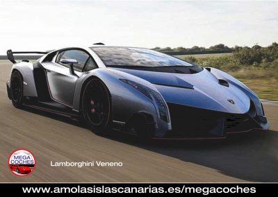 coches de lujo mas caros del mundo Lamborghini Veneno islascanarias