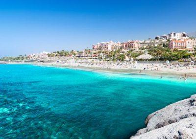 del-Duque-Strand-Teneriffa playas de Tenerife Islas Canarias España