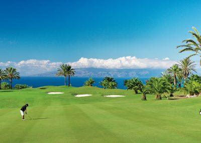 deporte golf en Tenerife islas Canarias golfistas