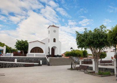 ermita y plaza de santo domingo en la guancha tenerife