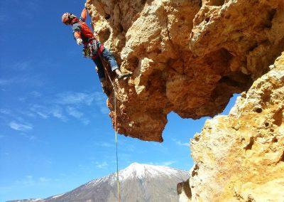 escalada-en-tenerife-escalar-la-cañada-islas-canarias