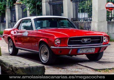 ford mustang 1967 foto coche deportivo y de lujo mas caros del mundo vips Tenerife Islas Canarias