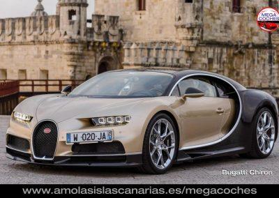foto Bugatti Chiron deportivos coches de lujo mas caros del mundo Tenerife Islas Canarias