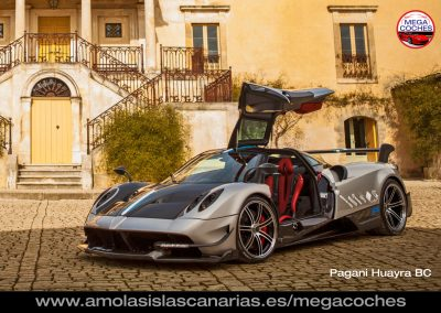 foto Pagani Huayra BC deportivos coches de lujo mas caros del mundo Tenerife Islas Canarias