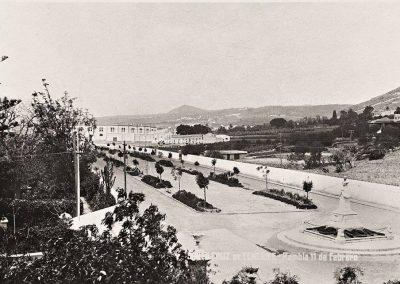 foto blanco y negro Rambla XI de Febrero entre 1917 y 1920-TENERIFE-amo las islas canarias