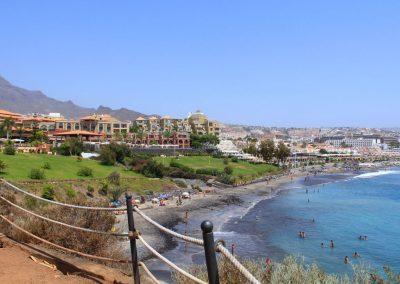 foto de costa Adeje Tenerife Пляж Фанабе Playa-de-Fanabe