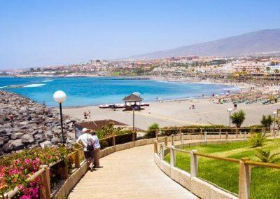 foto de costa Adeje Tenerife