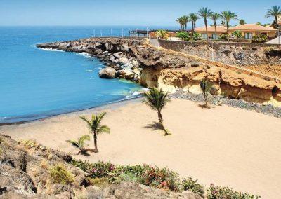 foto de costa Adeje Tenerife islas canarias
