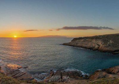 foto del amanecer en tenerife amo las islas canarias mar