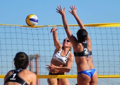 foto deporte voleibol playa Tenerife Islas Canarias