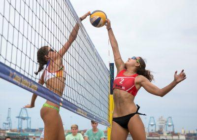 foto deporte voleibol playa tenerife