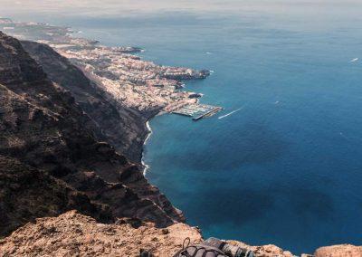foto paisajes de tenerife montaña mar amo las islas canarias