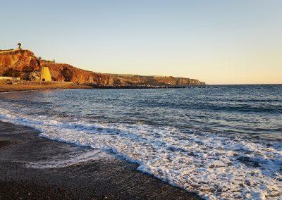 foto playa paisaje de tenerife foto de las islas canarias