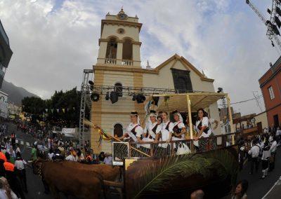 foto romeria Arafo tenerife en islas canarias España