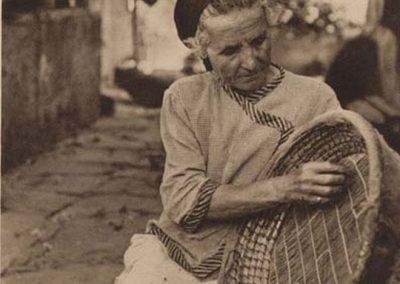 fotos antiguas de canarias mujer trabajadora de los campos tenerife arona