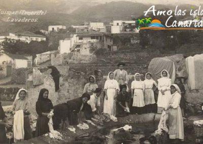 fotos antiguas de canarias mujeres lavando a mano en guimar tenerife adeje