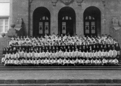 fotos antiguas de tenerife Escuelas Anejas de La Laguna 1967-TENERIFE-amo las islas canarias
