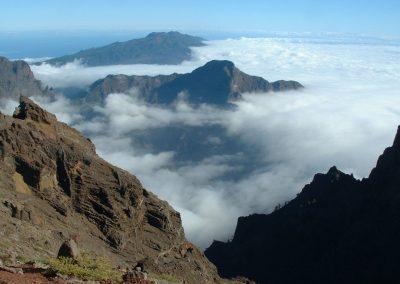 fotos de la caldera de taburiente casa rural el posito vistas panoramicas de las islas canarias senderismo