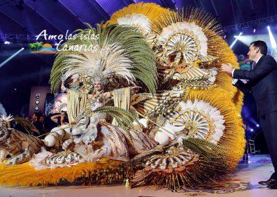 fotos reina de los carnavales de tenerife islas canarias 2019 2018
