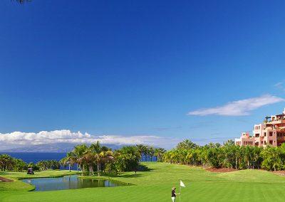 hotel The Ritz deporte golf en Tenerife islas Canarias golfistas