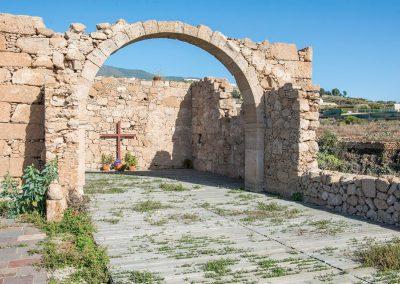 iglesia vieja en fasnia tenerife