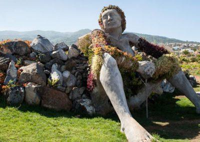 la gigante monumento de santa ursula tenerife
