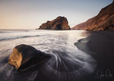 la palma fotos Playa de Bujarén isla de La Palma