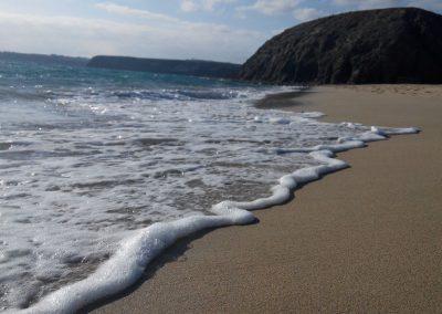 lugares de visitar en islas canarias fotos de la playa papagallo en lanzarote españa turismo vacacional