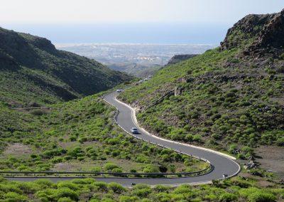 montañas de tenerife islas canarias road