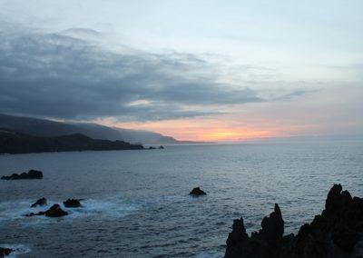 municipio de la guancha playa de noche en tenerife