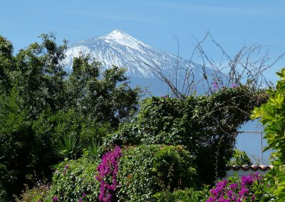 paisaje de tenerife teide foto de las islas canarias