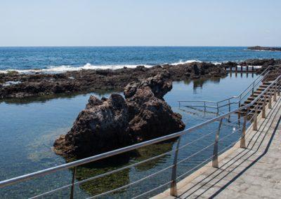 paseo maritimo de alcala en guia de isora tenerife