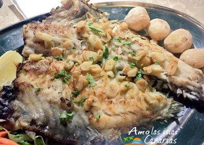 platos tipicos de lanzarote receta de pescado marga vieja islas canarias arona