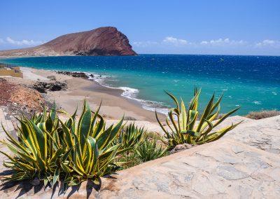 playa La-Tejita-Tenerife sur Islas Canarias España hoteles en Tenerife sur
