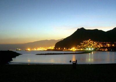 playa-Las-Teresitas-Tenerife-noche