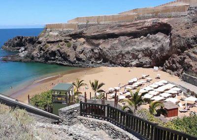 playa de abama en guia de isora tenerife