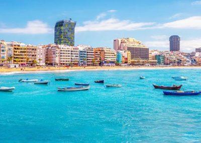 playa de las Palmas Islas Canarias España hoteles alojamiento