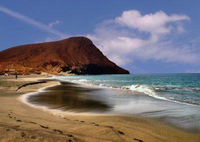 playa del medano montaña tenerife