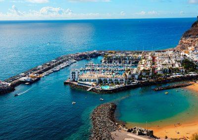 playas de Gran Canarias Hoteles alojamientos en España