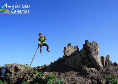 salto del pastor canario antiguas usanzas en las islas fotografias tenerife gran canaria españa adeje