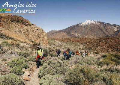 senderismo excursiones en tenerife turismo fotos de lugares para visitar el teide montaña deportes conocer las islas canarias españa arona