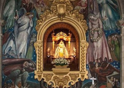 virgen de candelaria basilica en tenerife